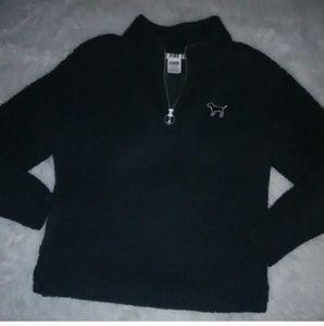 PINK S Sherpa Sweatshirt Victoria secret